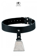 Collier Bell Collar - Spartacus : Un collier muni d'une clochette pour surveiller les mouvements de votre animal préféré.