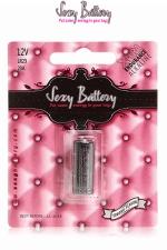 Sexy battery - Pile LR23 : 1 pile Sexy Battery de type LR23 pour faire fonctionner vos sextoys.