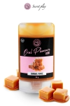 Lubrifiant comestible caramel toffee : Lubrifiant 100% comestible au parfum caramel toffee signé de la marque Espagnole Secret Play.