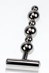 Plug métal Thruster : Un sextoy tout en métal pour une utilisation anale ou vaginale.