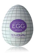 Tenga Egg Spider : Egg Spider, votre piège à plaisir! un masturbateur de nouvelle génération  en forme d'oeuf, signé Tenga.