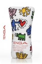 Tenga  Soft tube - Keith Haring : La nouvelle version du masturbateur Soft Tube, pour toujours plus de plaisir.
