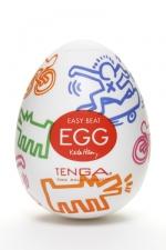 Tenga Egg street - Keith haring : Nouveau masturbateur Tenga EGG , un sextoy collector ambiance urbaine à découvrir de toute urgence.